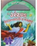 JÉZUS lecsendesíti a vihart - Vigyél magaddal (puzzle) Biblia