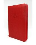 Közepes Biblia - Piros - Cipzárral - Regiszterrel (index)  - Károli Gáspár fordítása