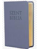 Mini Biblia - Metál Kék - Cipzáros - Károli Gáspár fordítása