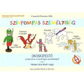 Színpompás személyiség - Czmerk-Prisztács Edit - okoskifestő