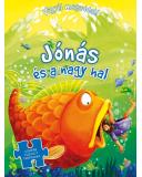 Jónás és a nagy hal - Vigyél magaddal (puzzle) Biblia