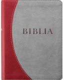 Biblia Rev. új ford (RÚF 2014), középméret, puhatáblás, varrott, bordó