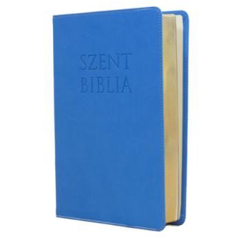 Nagy Biblia - Világoskék - Károli Gáspár fordítása