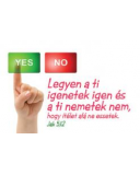 Minikártya - YES or NO   Jk 5,12