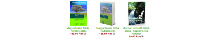Újonnan revideált Károli-Bibliák